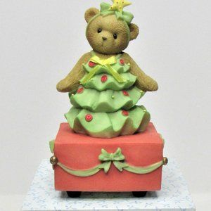 "Cherished Teddies ""O Christmas Tree"" Music Box"
